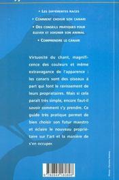 Canaris - 4ème de couverture - Format classique