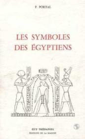 Les Symboles des Egyptiens - Couverture - Format classique