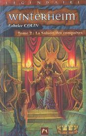 Les Chroniques De Winterheim T.2 ; La Saison Des Conquetes - Intérieur - Format classique