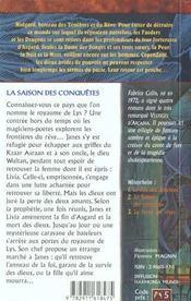 Les Chroniques De Winterheim T.2 ; La Saison Des Conquetes - 4ème de couverture - Format classique