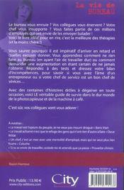 La Vie De Bureau (Bourreau) - 4ème de couverture - Format classique