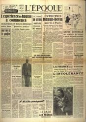 Epoque (L') N°1733 du 01/05/1948 - Couverture - Format classique