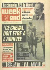 Week End N°769 du 16/08/1975 - Couverture - Format classique
