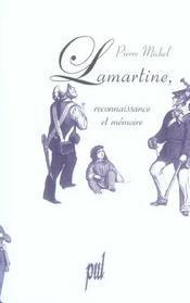 Lamartine. reconnaissance et memoire - Intérieur - Format classique