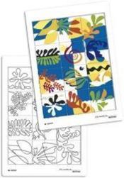 Puzzle à la manière de... Matisse - Couverture - Format classique