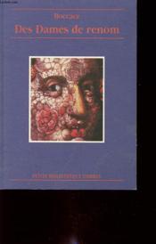 Des dames de renom - Couverture - Format classique