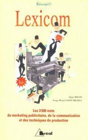 Lexicom - Intérieur - Format classique