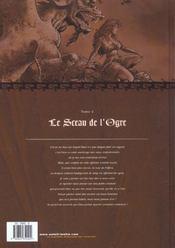 Mortepierre t.4 ; le sceau de l'ogre - 4ème de couverture - Format classique