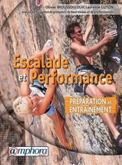 Escalade et performance ; préparation et entraînement - Intérieur - Format classique