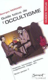 Guide Totus - De L'Occultisme - Couverture - Format classique