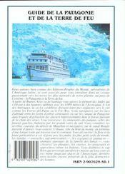 La patagonie et la terre de feu - 4ème de couverture - Format classique