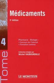 Médicaments (3e édition) - Intérieur - Format classique