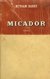 Micador. - Couverture - Format classique