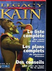 Supplement Legacy Of Kain - Guide N°4 - La Liste Complet Des Sorts Et Des Armes - Les Plans Complets - Des Conseils - Couverture - Format classique