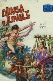 Dinga Jungle N°37. La Piste Du Sel / Le Pavillon Noir. - Couverture - Format classique