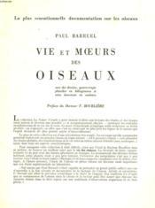 Vie Et Moeurs Des Oiseaux. Extraits. - Couverture - Format classique