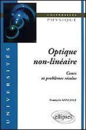 Optique Non-Lineaire - Couverture - Format classique