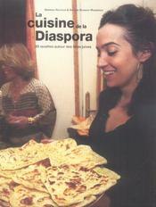 La cuisine de la diaspora - 4ème de couverture - Format classique