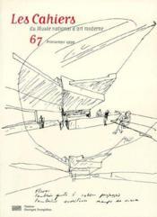 Cahiers Du Musee National D'Art Moderne N.67 ; Printemps 1999 - Couverture - Format classique