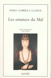 Errances Du Mal (Les) - Intérieur - Format classique