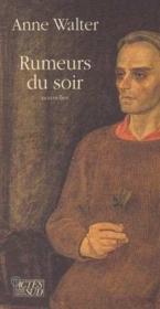 Rumeurs Du Soir - Nouvelles - Couverture - Format classique