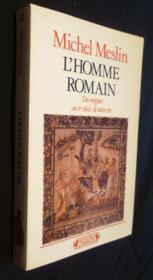 Homme romain - Couverture - Format classique