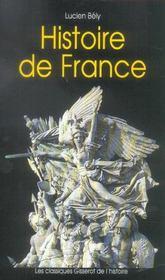 Histoire De France (Classique Gisserot De L'Histoire) - Intérieur - Format classique
