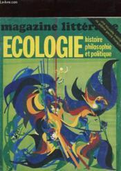 Magazine Litteraire - Ecologie, Histoire Philosophie Et Politique N°122 - Couverture - Format classique