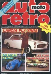Auto-Moto Retro N°33 - Lancia Flamina - Delage 3l Le Mans - Les Ford Transparentes - Couverture - Format classique