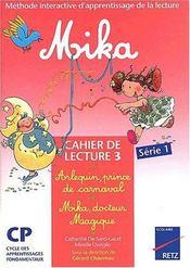 Mika Cp Serie 1 Cahier 3 - Intérieur - Format classique