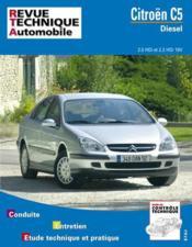 Rta 654.1 Citroen C5 Diesel (2001) - Couverture - Format classique