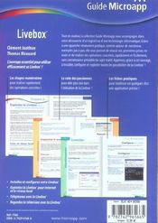 Livebox - 4ème de couverture - Format classique