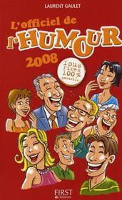 L'Officiel De L'Humour (Edition 2008) - Intérieur - Format classique