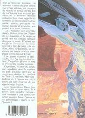 Griots Celestes 1 Qui Vient Du Bruit - 4ème de couverture - Format classique