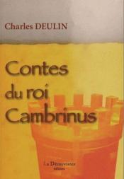Contes du roi Cambrinus - Couverture - Format classique