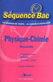 Sb physique chimie seconde - Intérieur - Format classique