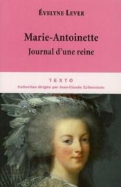 Marie-Antoinette, journal d'une reine - Couverture - Format classique
