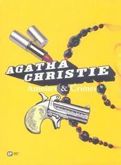 Agatha Christie ; coffret amours et crimes - Intérieur - Format classique