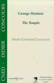 George Herbert, The Temple - Couverture - Format classique