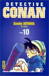 Detective conan t10 - Couverture - Format classique