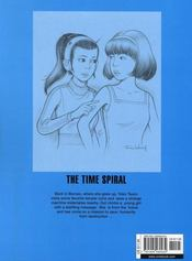 Yoko Tsuno t.2 ; the time spiral - 4ème de couverture - Format classique