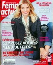 Femme Actuelle N°1417 du 21/11/2011 - Couverture - Format classique