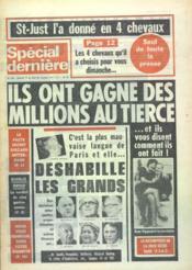 Special Derniere N°350 du 14/11/1975 - Couverture - Format classique