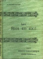 Les Rois En Exil. - Couverture - Format classique