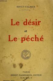 Le Desir Et Le Peche. - Couverture - Format classique