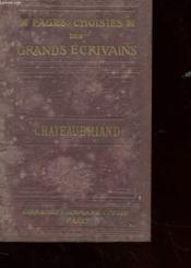 Pages Choisies Des Grands Ecrivains - Couverture - Format classique