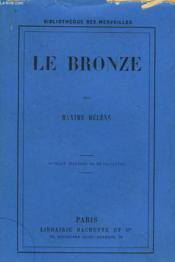 Le Bronze - Couverture - Format classique