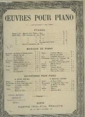 Marche Turque - Pour Piano. - Couverture - Format classique