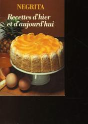 Recettes D'Hier Et D'Aujourd'Hui - Couverture - Format classique