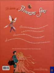 18 histoires de princesses et de fees - 4ème de couverture - Format classique